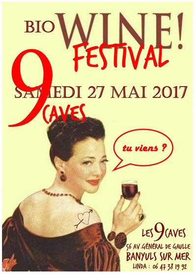 9 Caves Bio Wine Festival