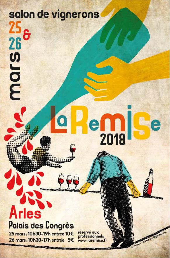 La vinaigrerie La Guinelle sera présente au salon La Remise en Arles.