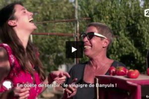 """Le vinaigre de Banyuls dans """"C'est au programme"""""""